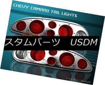テールライト 93-02 CHEVY CAMARO TAIL LIGHTS CHROME 94 95 96 97 98 99 00 01 NEW 93-02 CHEVY CAMAROテールライトクローム94 95 96 97 98 99 00 01 NEW