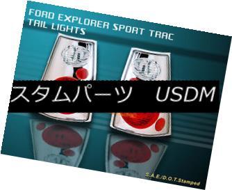 テールライト 01-05 FORD EXPLORER SPORT TRAC TAIL LIGHTS CHROME 02 03 04 01-05フォードエクスプローラースポーツトレックテールライトクローム02 03 04