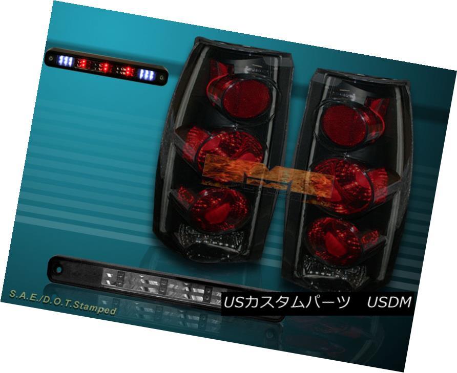 テールライト 88-98 CHEVY GMC C/K 1500 2500 3500 SIERRA DARK SMOKE TAIL LIGHTS LED BRAKE LIGHT 88-98 CHEVY GMC C / K 1500 2500 3500 SIERRA DARK SMOKEテールライトLEDブレーキライト