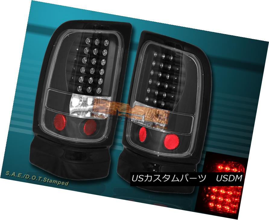 テールライト 94 95 96 97-01 DODGE RAM 1500/2500/3500 BLACK LED TAIL LIGHTS 94 95 96 97-01 DODGE RAM 1500/2500/3500 BLACK LEDテールライト
