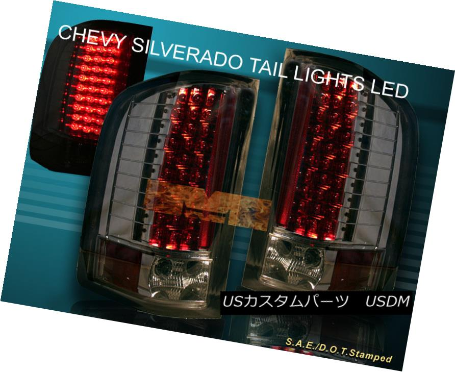 テールライト 07-13 CHEVY SILVERADO TAIL LIGHTS LED SMOKE 2008 2009 2010 2011 2012 07-13 CHEVY SILVERADOテールライトLED SMOKE 2008 2009 2010 2011 2011