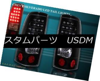 テールライト 99-02 CHEVY SILVERADO / 99- 03 GMC SIERRA 1500/2500 LED BLACK REAR LAMPS 99-02 CHEVY SILVERADO / 99- 03 GMC SIERRA 1500/2500 LED BLACKリア・ランプ