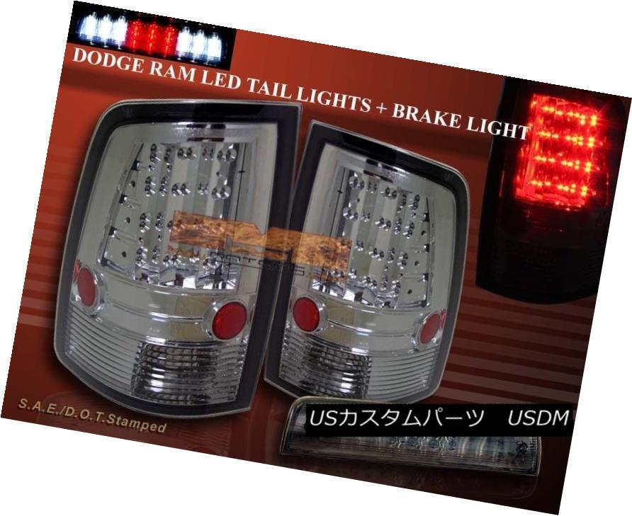 テールライト 10-15 RAM 2500/3500 / 09-15 DODGE RAM 1500 TAIL LIGHTS LED & BRAKE LIGHT SMK 10-15 RAM 2500/3500/09-15 DODGE RAM 1500テールライトLED& ブレーキライトSMK