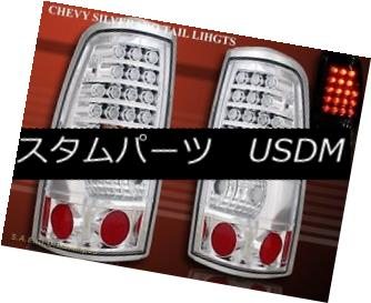 テールライト 99-02 CHEVY SILVERADO SILVERADO/ 99-03 SILVERADO SIERRA GMC SIERRA 1500/2500 REAR LAMPS CHROME L.E.D 99-02 CHEVY SILVERADO/ 99-03 GMC SIERRA 1500/2500リア・ラムズ・クロームL.E.D, シンシロシ:ee72377f --- officewill.xsrv.jp