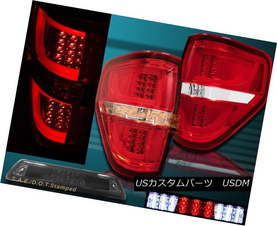 車用品 バイク用品 超定番 >> パーツ ライト ランプ テールライト 09-14 Ford F150 XL XLT STX 激安特価品 G2 Tail LED Red 3rd + LEDテールライト+第3ブレーキライト Light Lights FX4レッドG2 Brake FX4