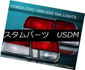 テールライト 96-99 00 HONDA CIVIC LX/EX/SI 2D/2DR RC OEM TAIL LIGHTS 96-99 00ホンダシビックLX / EX / SI 2D / 2DR RC OEMテールライト