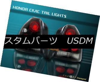 テールライト 96-00 HONDA CIVIC TAIL LIGHTS BLACK LAMP HATCHBACK 3Door 97 98 99 96-00ホンダシビックテールライトブラックランプハッチバック3Door 97 98 99