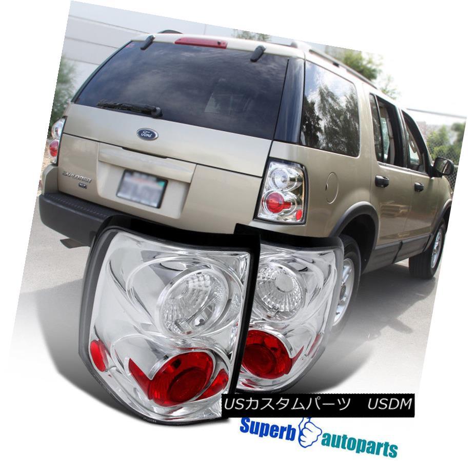 テールライト 2002-2005 Ford Explorer Replacement Clear Tail Brake Lights Clear 2002 - 2005年フォードエクスプローラー交換クリアテールブレーキライトクリア