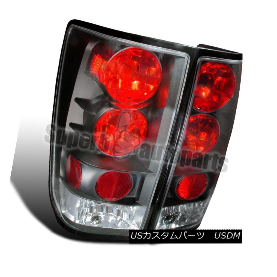 テールライト For 2004-2013 Titan Replacement Tail Lights Brake Lamps Black 2004年?2013年タイタンの交換テールライトブレーキランプブラック