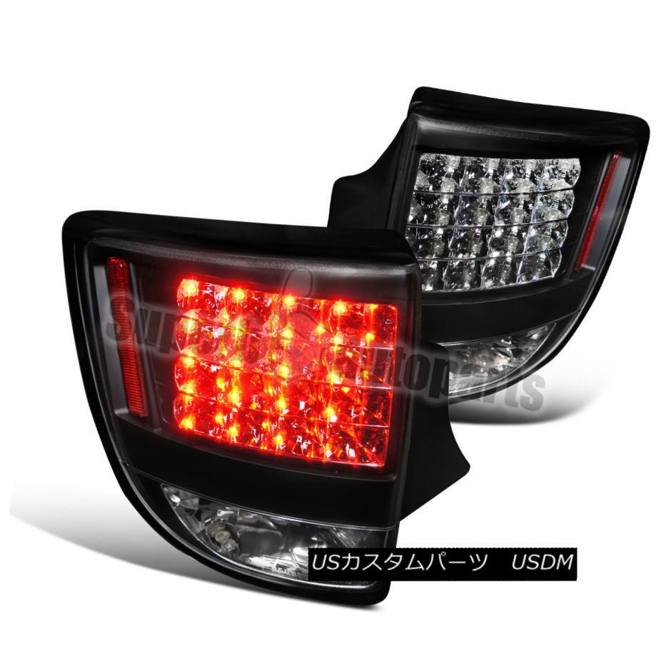 テールライト 2000-2005 Toyota Celica LED Tail Lights Brake Lamp Black 2000-2005トヨタセリカLEDテールライトブレーキランプブラック