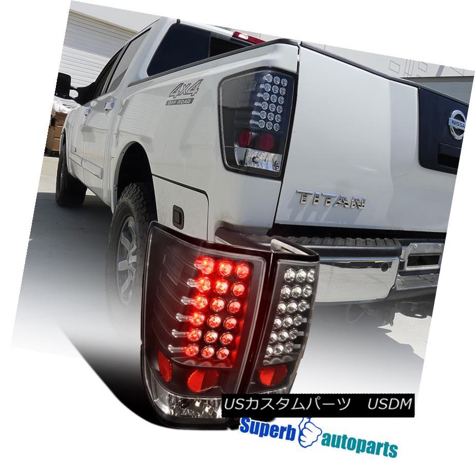 テールライト For 2004-2013 Titan LED Tail For Lamp Lights Tail Brake Lamp Black Pair 2004年?2013年タイタンLEDテールライトブレーキランプブラックペア, Branding Labo:3f2a1ad2 --- officewill.xsrv.jp