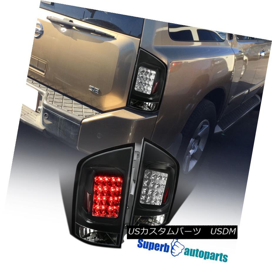 テールライト Fit LED + 2005-2015 Armada Black Clear LED Armada Brake Tail Lights Lamps LH+RH フィット2005-2015アームダブラッククリアLEDブレーキテールライトランプLH + RH, 安全靴作業用品わくわくサンライズ:80962659 --- officewill.xsrv.jp