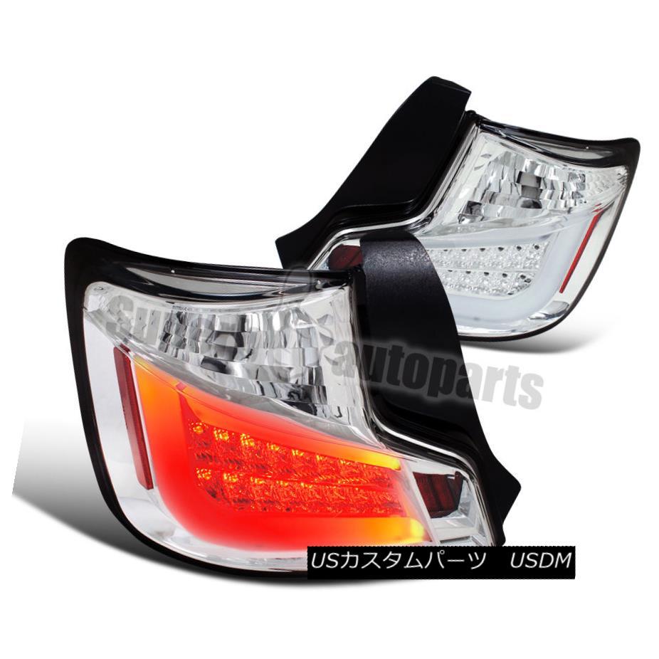 テールライト 2011-2013 Scion tC LED Tail Lights Rear Stop Lamps Chrome 2011-2013シオンtC LEDテールライトリアストップランプクローム