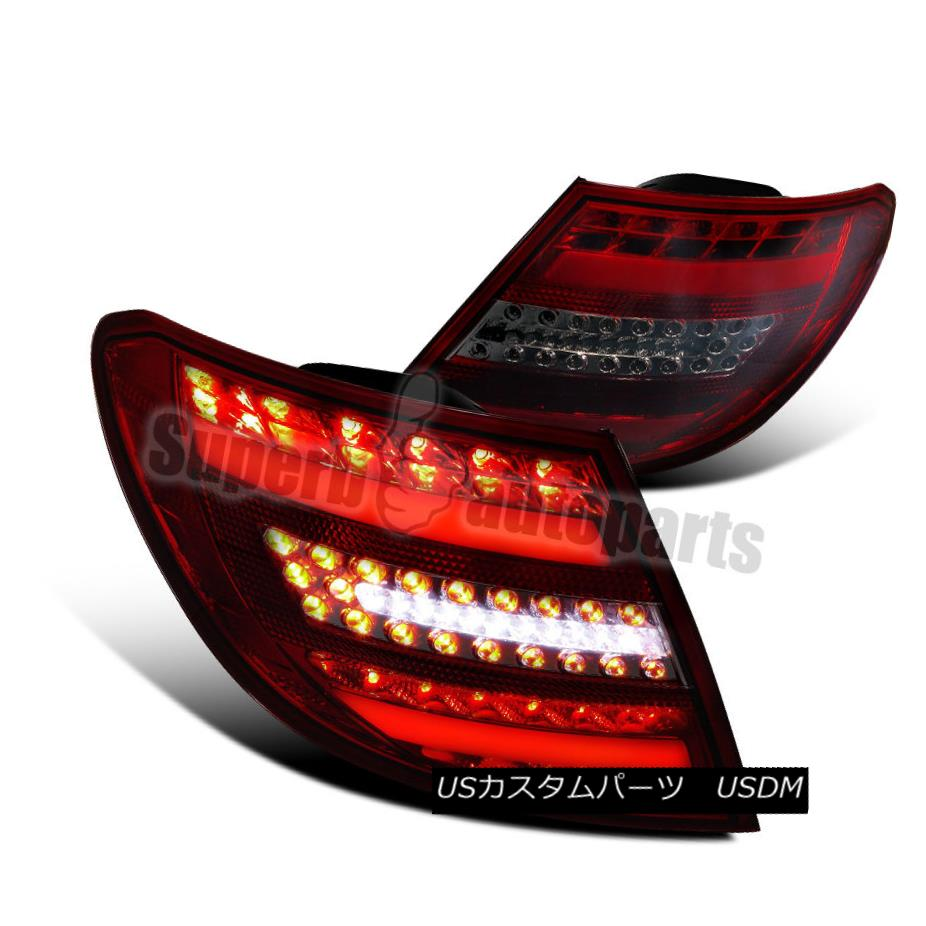 NEW LEFT SIDE TAIL LIGHT ASSEMBLY FITS 2008-2011 MERCEDES-BENZ C-CLASS MB2800129
