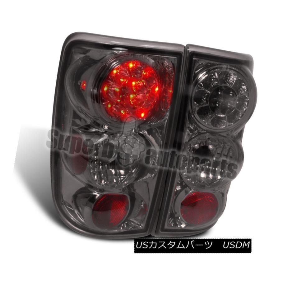 テールライト 1995-2004 Blazer Jimmy S10 LED Tail Lights Brake Lamp Smoke 1995-2004 Blazer Jimmy S10 LEDテールライトブレーキランプスモーク