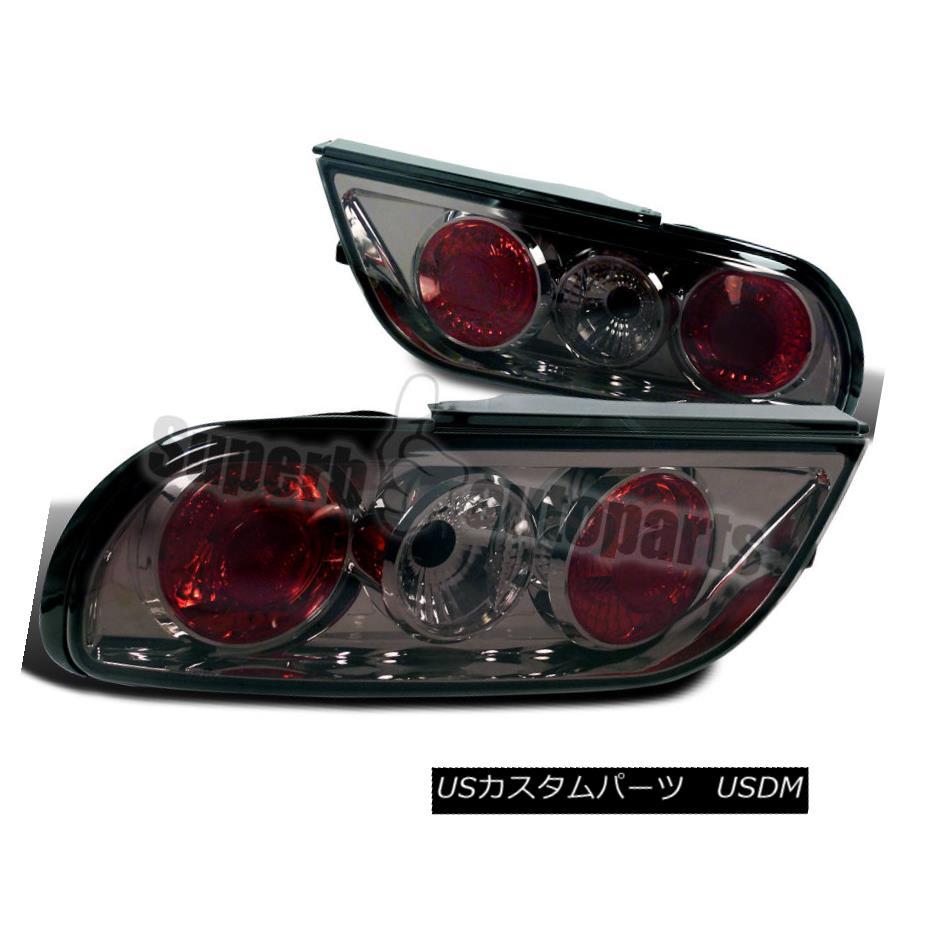 テールライト For 1989-1994 S13 240SX Hatchback Replacement Tail Lights Smoke Lens 1989-1994年S13 240SXハッチバック交換テールライトスモークレンズ