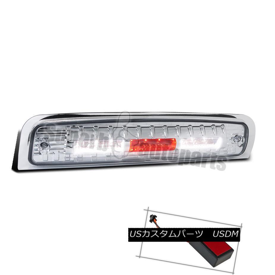 テールライト 2014-2015 Dodge Ram 1500/2500 Euro Chrome Clear LED 3rd Brake Tail Light 2014-2015ダッジラム1500/2500ユーロクロームクリアLED第3ブレーキテールライト