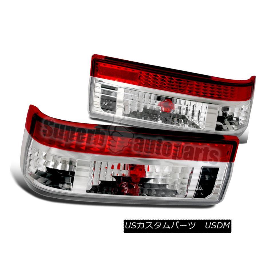 テールライト 1983-1987 Toyota Corolla AE86 Hatchback Tail Lights Lamps Red/ Clear 1983-1987 Toyota Corolla AE86ハッチバックテールライトランプレッド/クリア