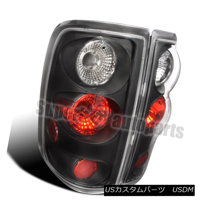 テールライト 2004-2008 Ford F150 Styleside Tail Lights Rear Brake Lamps Black Pair 2004-2008 Ford F150 Stylesideテールライトリアブレーキランプブラックペア