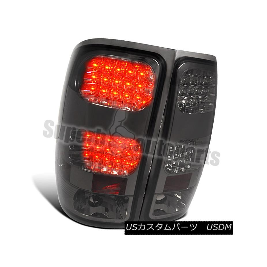 テールライト 2007-2014 GMC Sierra 1500 2500 3500 LED Tail Lamps Brake Lights Smoke 2007-2014 GMC Sierra 1500 2500 3500 LEDテールランプブレーキライトスモーク