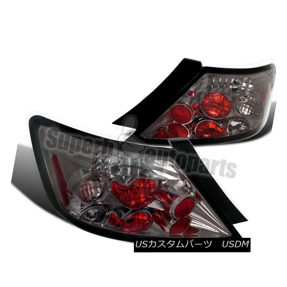 テールライト For 2006-2011 Honda Civic 2dr Coupe Tail Lights Rear Brake Lamps Smoked 2006?2011年ホンダシビック2drクーペテールライトリアブレーキランプスモーク