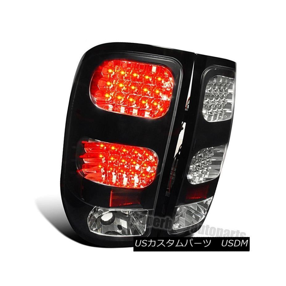 テールライト 2500 2007-2014 GMC Sierra 1500 2500 Black 3500 Sierra LED Tail Lamps Brake Lights Black 2007-2014 GMC Sierra 1500 2500 3500 LEDテールランプブレーキライトブラック, 福屋運動具店:4489194b --- officewill.xsrv.jp