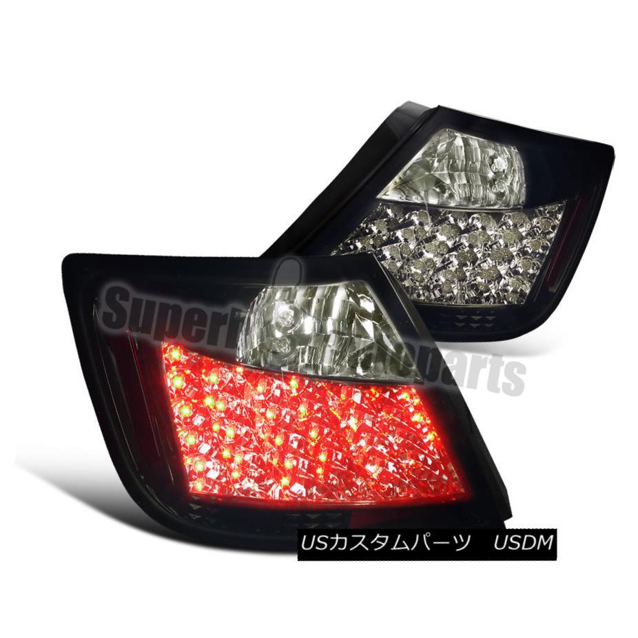 テールライト 2004-2010 2004-2010 Scion テールライト tC LED Tail Brake Lights LED Glossy Black/Smoke Lens 2004-2010シオンtC LEDテールブレーキライトグロッシーブラック/スモークレンズ, シルク専門店イーズクリエーション:2d13d171 --- officewill.xsrv.jp