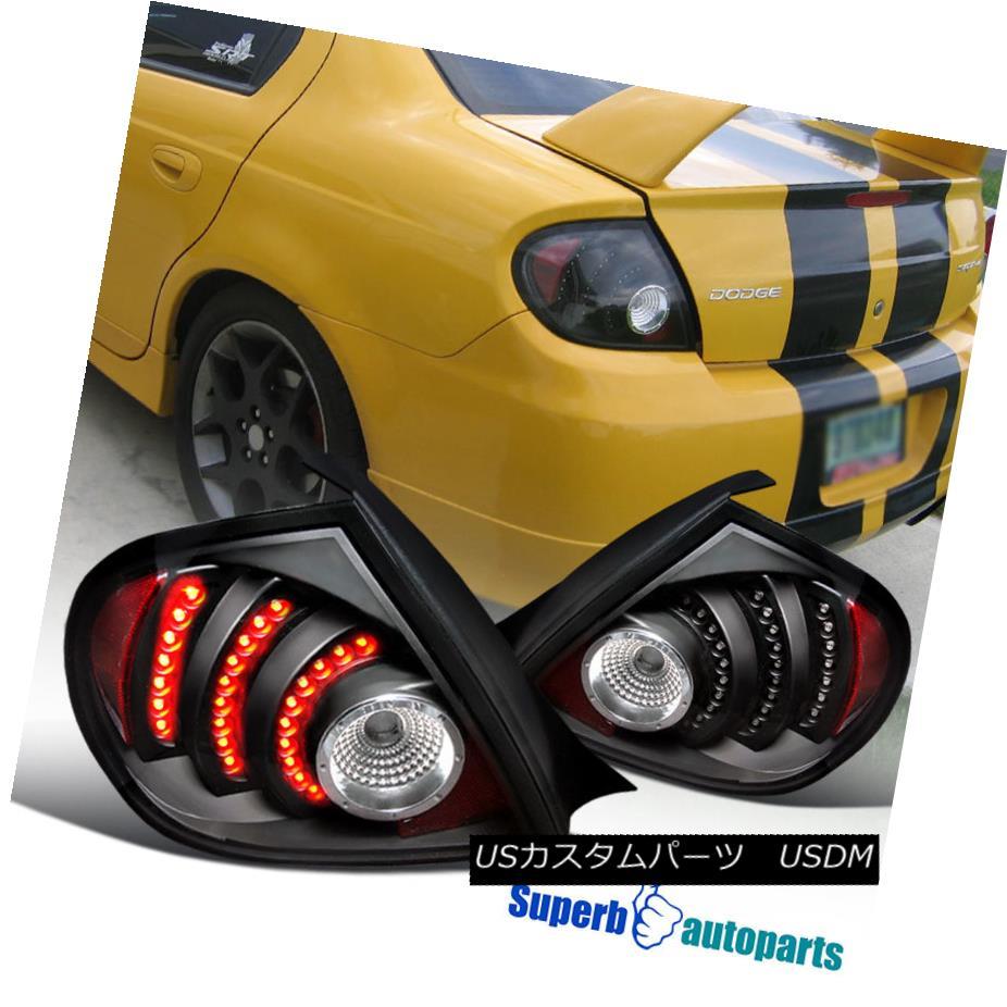 テールライト 2003-2005 Dodge Neon Depo SRT4/ テールライト R/T LED Tail Lights Depo Black 2003-2005ダッジネオンSRT4 R/ T LEDテールライトデポブラック, カナギチョウ:effcb04d --- officewill.xsrv.jp