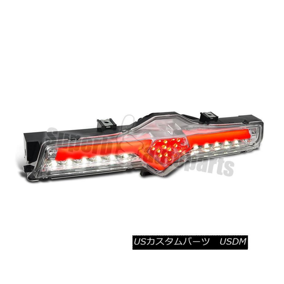 テールライト 2012-2016 BRZ 86 FRS Clear Full LED 3rd Third Brake Light/ Rear DRL Fog Lamps 2012-2016 BRZ 86 FRSクリアフルLED 3rd 3rdブレーキライト/リアDRLフォグランプ