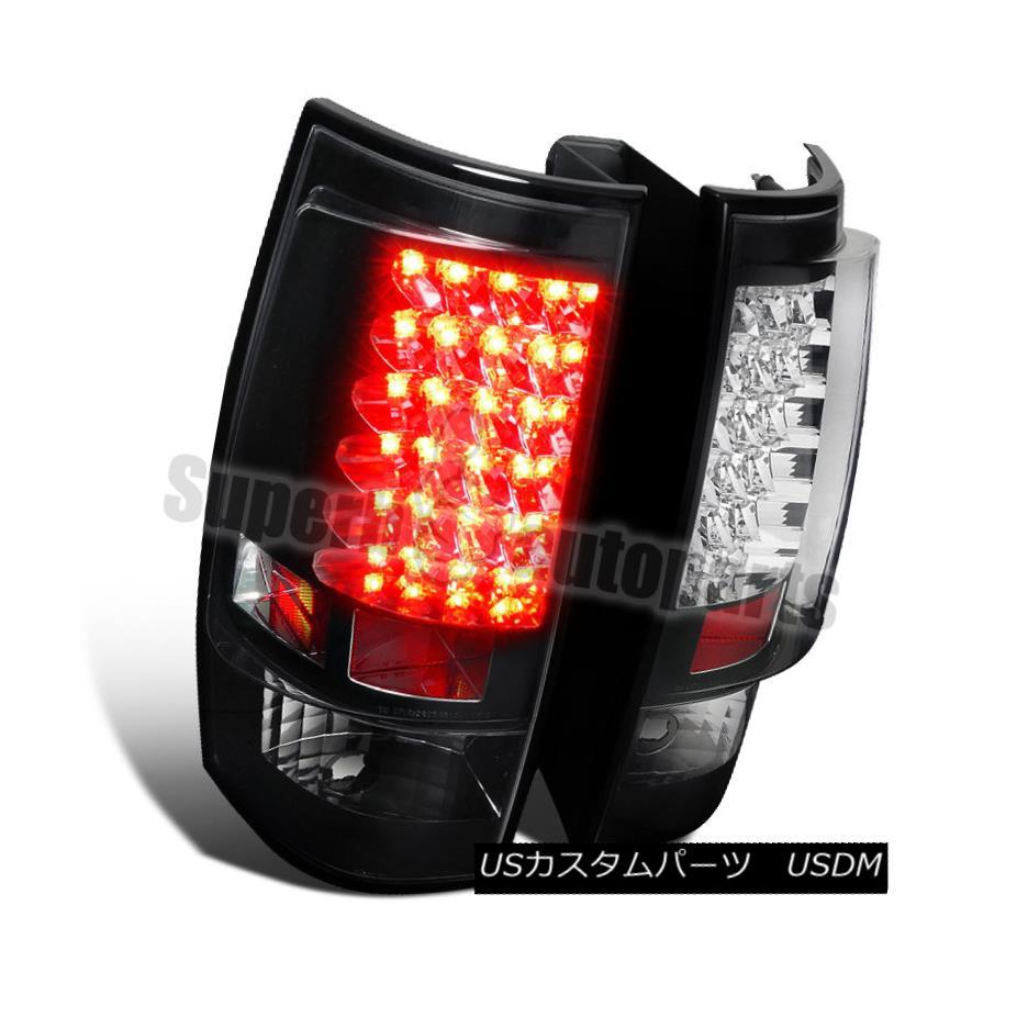 テールライト 2007-2014 Yukon XL Tahoe XL Suburban Euro Tail Black LED Tahoe Tail lights Brake Lamps 2007-2014ユーコンXLタホ郊外ユーロブラックLEDテールライトブレーキランプ, エリートスクリーン:8201bd69 --- officewill.xsrv.jp