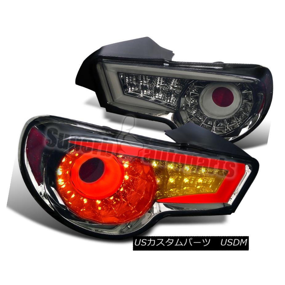 テールライト 2012-2016 FR-S 86 BRZ LED Tail Lights Brake Lamp Smoked Lens 2012-2016 FR-S 86 BRZ LEDテールライトブレーキランプスモークレンズ