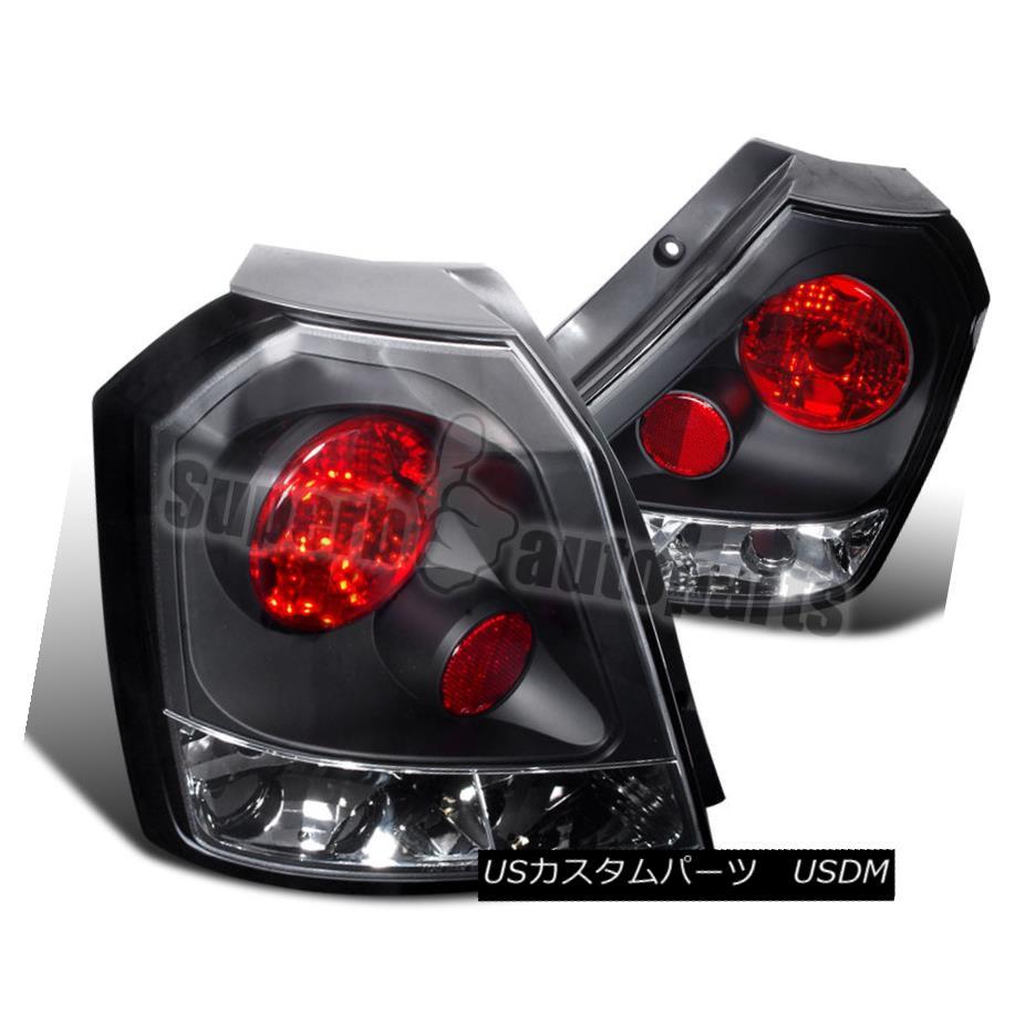 テールライト 2004-2008 Chevy Aveo Hatchback HB Black Tail Brake Lamps Lights Black 2004-2008シボレーAveoハッチバックHBブラックテールブレーキランプライトブラック
