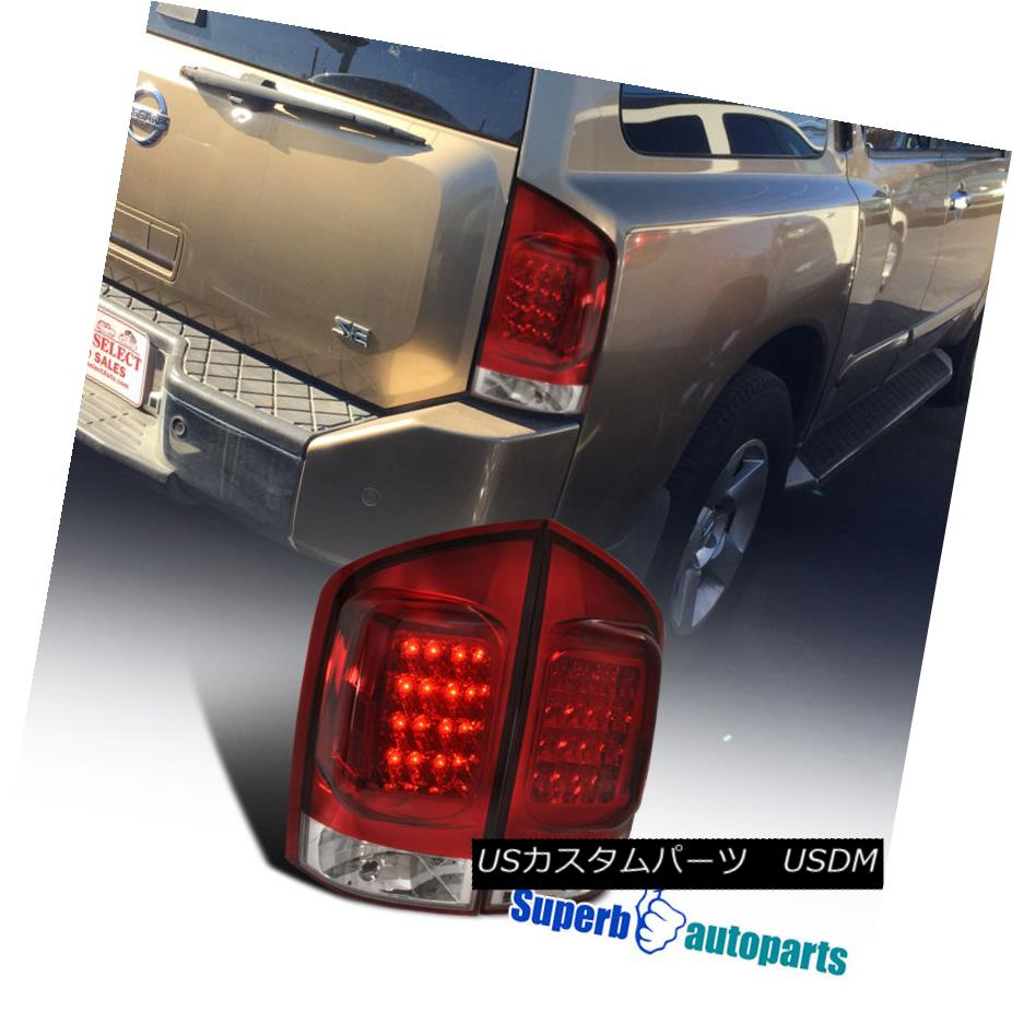 テールライト For Brake Lights 05-15 Nissan Armada LED Rear Brake Lamps 05-15 Tail Lights Pair Replacement 05-15日産アルマダLEDリアブレーキランプテールライトペア交換, レセット:99c33fa8 --- officewill.xsrv.jp