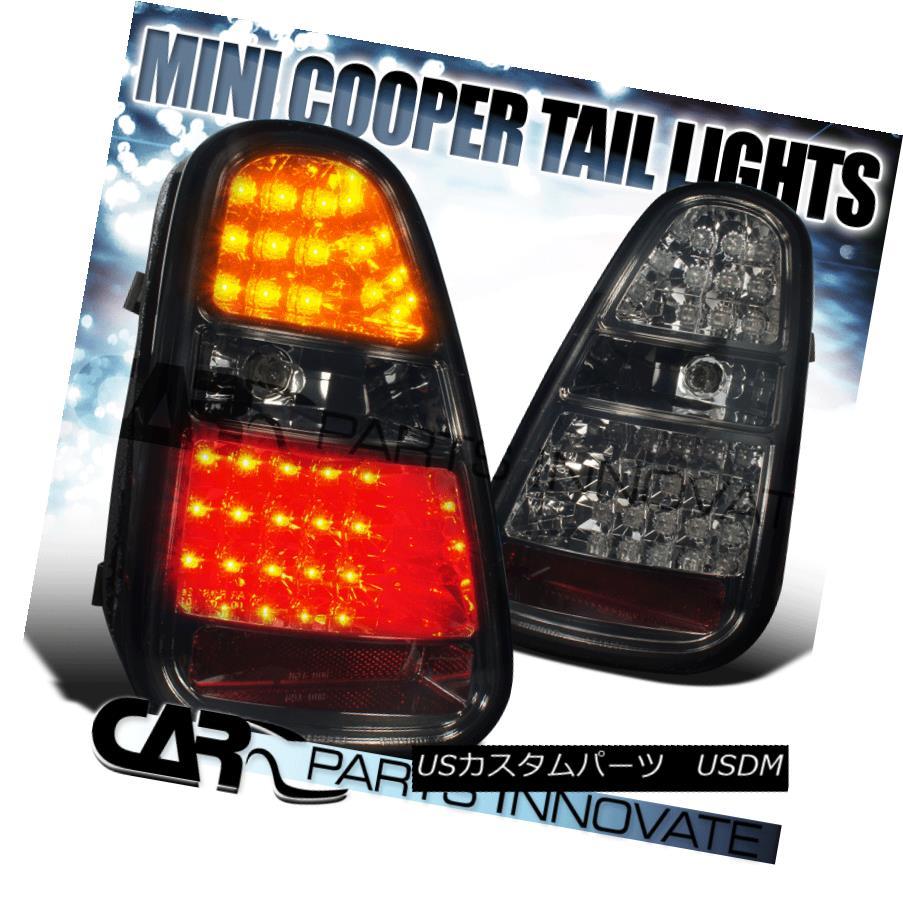 テールライト 2005-2006 Mini Cooper LED Smoke Tail Lights Rear Brake Lamp 2005-2006ミニクーパーLEDスモークテールライトリアブレーキランプ
