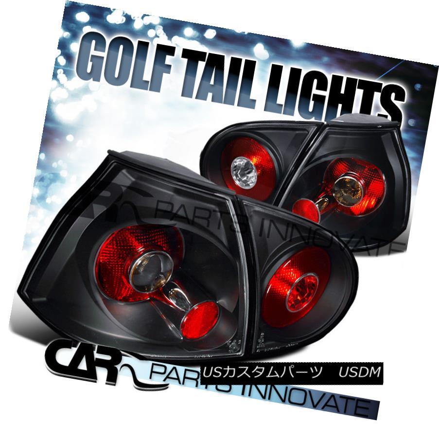テールライト For VW 06-09 Golf Mk5 GTI Rabbit R32 Tail Lights Brake Rear Lamp Altezza Black VW 06-09ゴルフMk5 GTIウサギR32テールライトブレーキリアライトAltezza Black