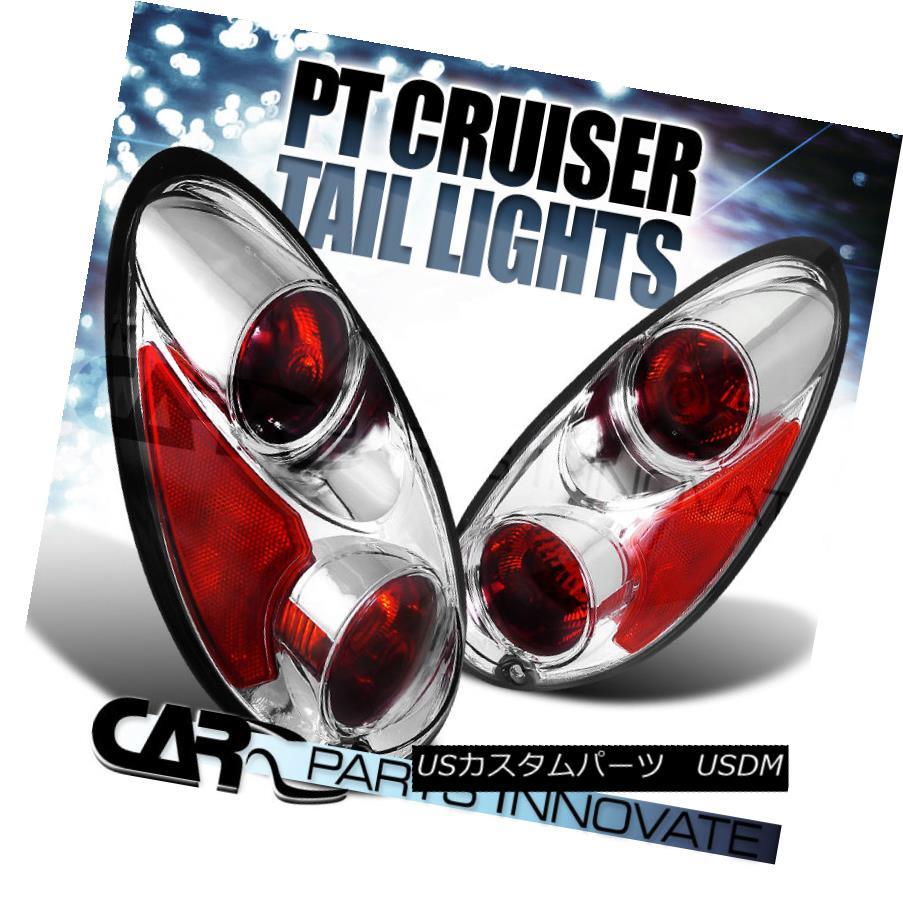 テールライト 01-05 Chrysler Pt Cruiser Clear Altezza Tail Lights Brake Lamps 01-05クライスラーPtクルーザークリアAltezzaテールライトブレーキランプ