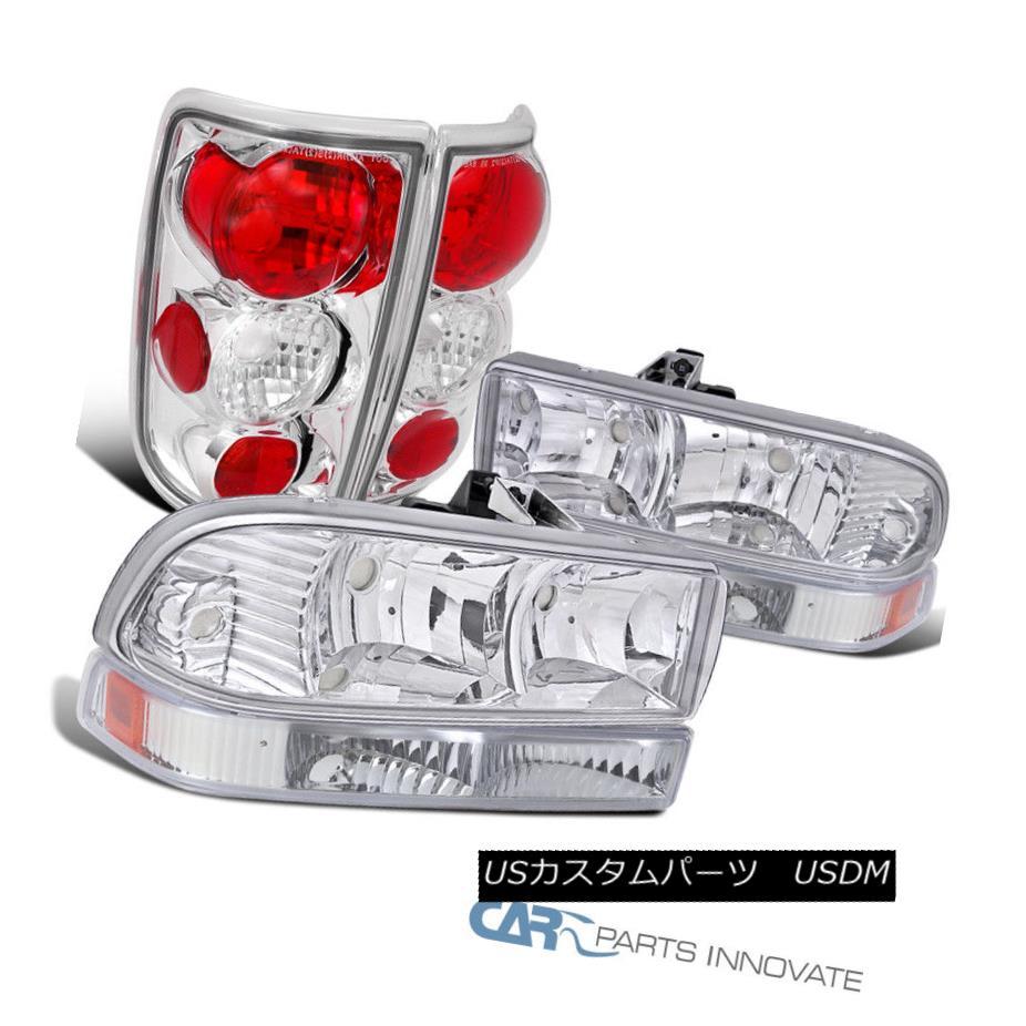 テールライト Blazer Head 1998-2004 Chevy Blazer Pickup Euro Clear Head Pickup Bumper Lights+Chrome Tail Lamp 1998-2004シボレーブレイザーピックアップユーロクリアヘッドバンパーライト+クロームテールランプ, 地酒焼酎お取り寄せグルメのサワヤ:6bb852e1 --- officewill.xsrv.jp