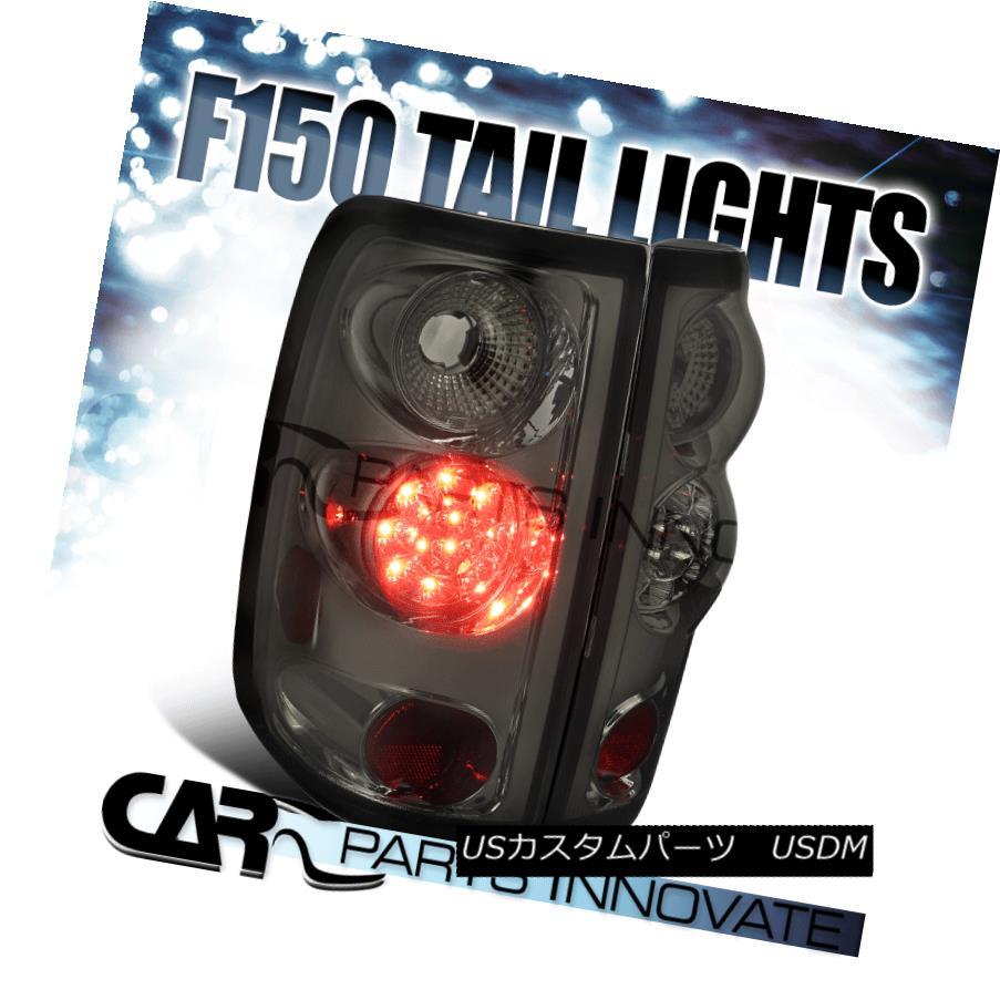 テールライト 04-08 Ford F150 Styleside Smoke LED Tail Lights Rear Brake Lamps Left+Right 04-08 Ford F150 Styleside Smoke LEDテールライトリアブレーキランプLeft + Right