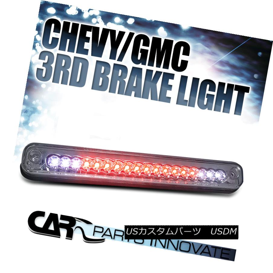 テールライト 88-00 Chevy GMC C10 C/K LED Smoked Lens 3rd Brake Stop Light 88-00シボレーGMC C10 C / K LEDスモークレンズ第3ブレーキストップライト