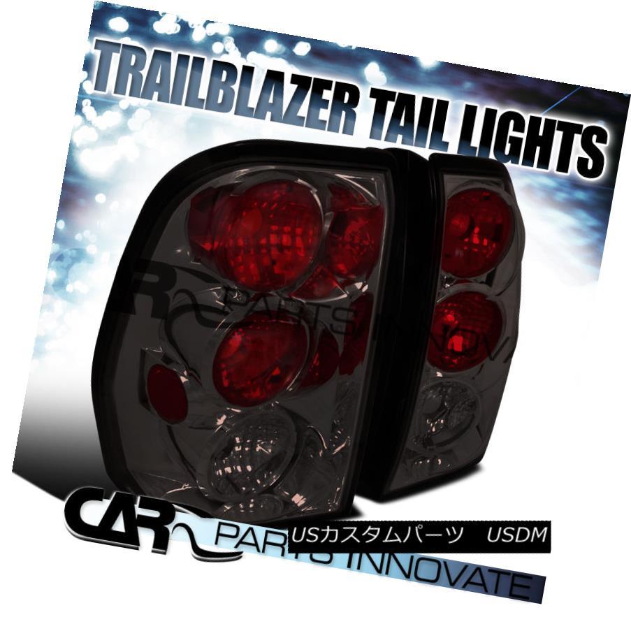 テールライト Chevy 02-09 Trailblazer Tail Lights Brake Stop Rear Lamp Altezza Smoke Chevy 02-09トレイルブレイカーテールライトブレーキストップリアライトAltezza Smoke