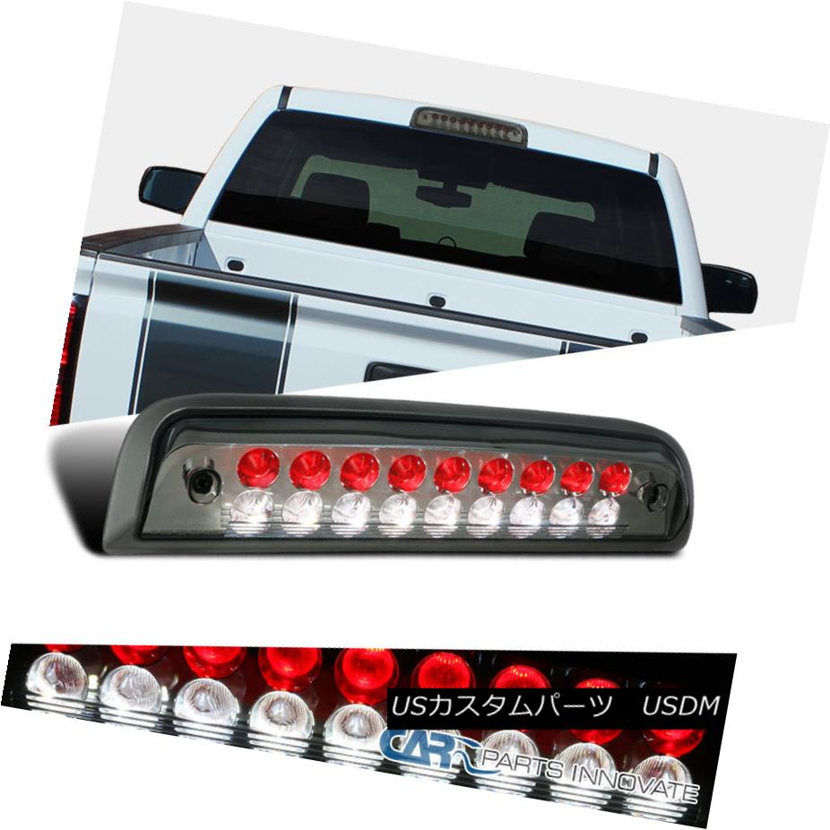 テールライト 2014-2016 GMC Sierra / Chevy Silverado Smoke/Red LED 3rd Brake Tail Cargo Light 2014-2016 GMC Sierra / Chevy Silverado煙/赤色LED第3ブレーキテールカーゴライト