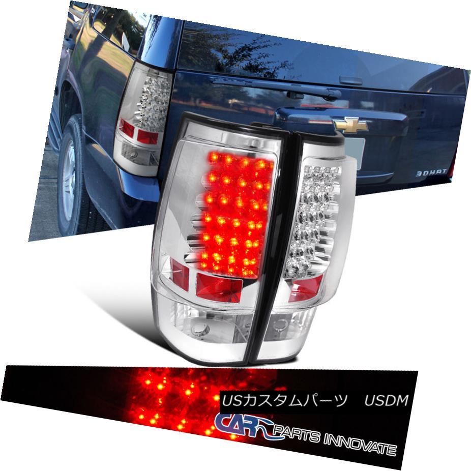 テールライト Tahoe郊外GMC Yukon 07-14 Chevy Tahoe Suburban GMC Yukon XL Suburban LED Tail Lights Rear Brake Lamp Chrome 07-14 Chevy Tahoe郊外GMC Yukon XL LEDテールライトリアブレーキランプクローム, 紙プラザ:c90c22b1 --- officewill.xsrv.jp