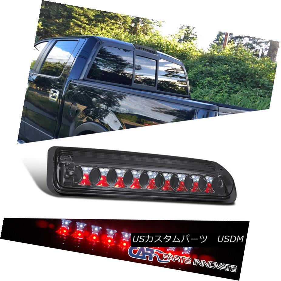 テールライト Ford 04-08 F150 Pickup LED Rear 3rd Third Brake Light Chrome Smoke フォード04-08 F150ピックアップLEDリア第3ブレーキライトクロームスモーク