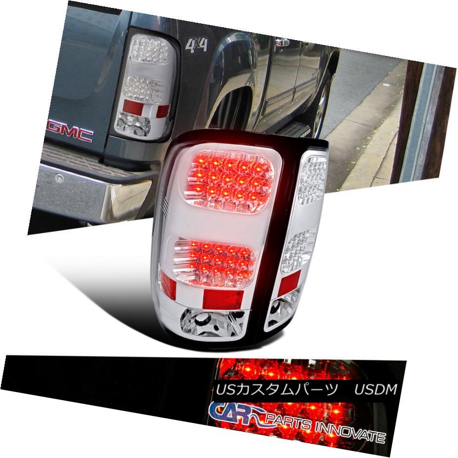 テールライト 1500 GMC 2007-2014 Sierra 1500 2500 3500 LED LED Tail Sierra Lights Brake Stop Rear Lamps Chrome GMC 2007-2014 Sierra 1500 2500 3500 LEDテールライトブレーキストップリアライトクローム, セレクトショップgame:5eda2be7 --- officewill.xsrv.jp