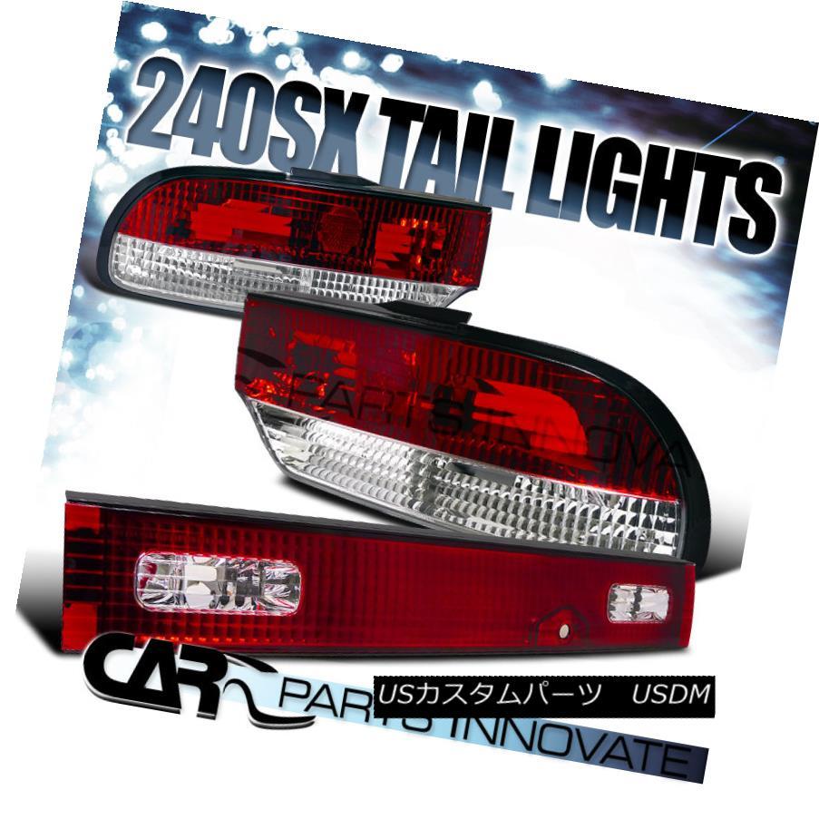 テールライト Trunk Brake For Nissan Lamp 89-94 240SX S13 3Dr HB Tail Lights Brake Stop Rear Lamp w/ Trunk Red 日産89-94 240SX S13 3Dr HBテールライトブレーキストップリアランプ(トランクレッド), GBB:a90cc16b --- officewill.xsrv.jp