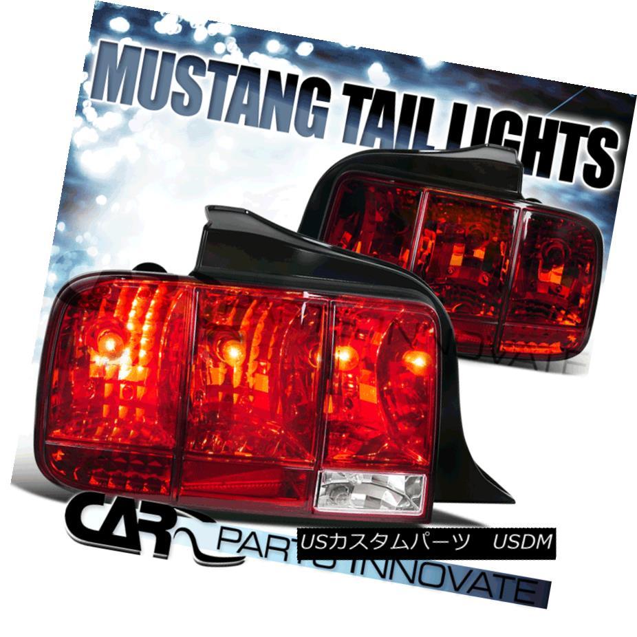テールライト 05-09 05-09 Mustang Sequential Tail Red Lights Brake Brake Rear Lamps Turning Signal Red Clear 05-09マスタングシーケンシャルテールライトブレーキリアタイニング信号レッドクリア, カドマシ:5f466300 --- officewill.xsrv.jp
