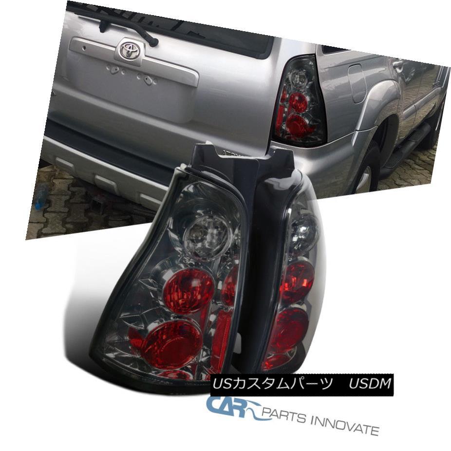 テールライト Toyota 03-05 4Runner Replacement Smoke Parking Tail Lights Brake Stop Rear Lamps トヨタ03-05 4ランナー交換用スモークパーキングテールライトブレーキストップリアライト