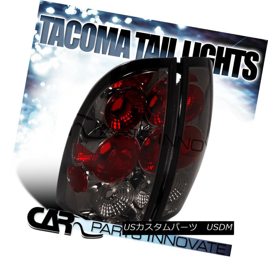 テールライト Toyota 05-08 Tacoma Tail Lights Brake Stop Rear Lamp Altezza Smoke トヨタ05-08タコマテールライトブレーキストップリアライトAltezza Smoke