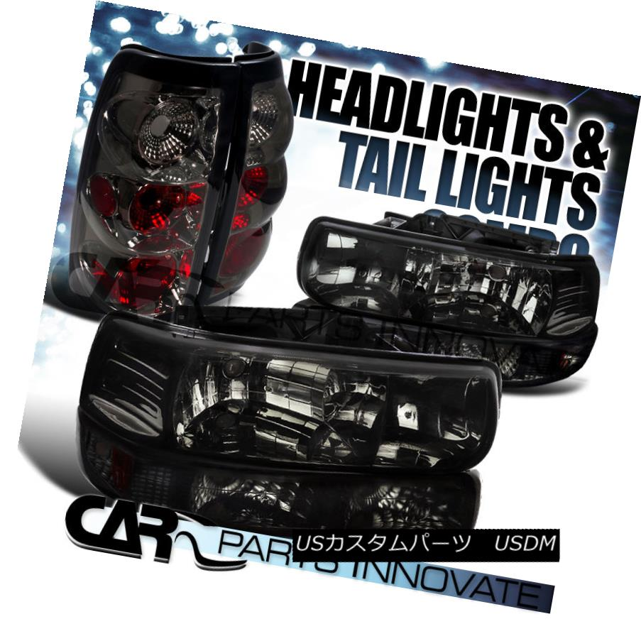 テールライト 99-02 Lights Silverado Fleetside Smoke Headlights+Bumper Lamps+Tinted Tail 99-02 Lamps+Tinted Lights 99-02 Silverado Fleetsideスモークヘッドライト+バーン 1ランプ+着色テールライト, T-ALPHA:766a885a --- officewill.xsrv.jp