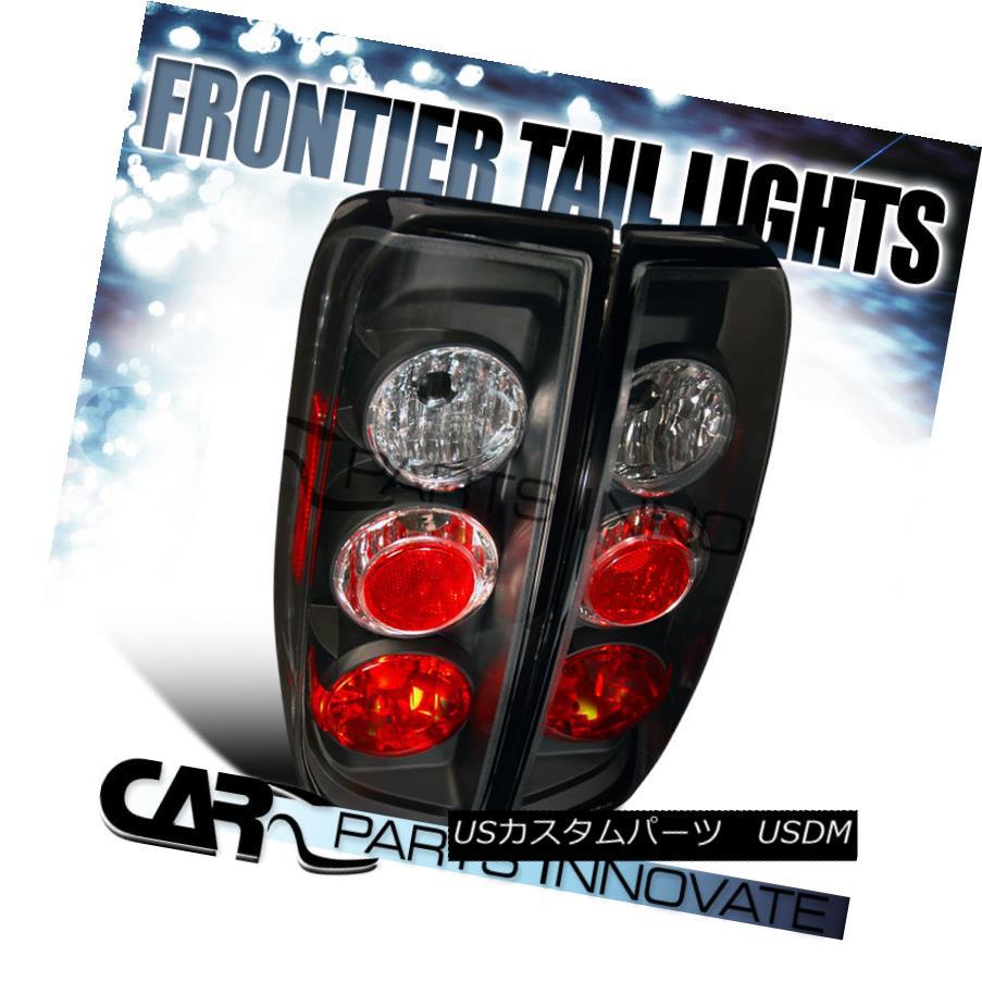 テールライト For Nissan 05-14 Frontier 09-12 Suzuki Equator Tail Lights Lamps Altezza Black 日産用05-14フロンティア09-12スズキエクアターテールライトランプアルテッツァブラック